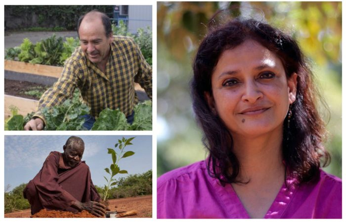 Can Agroecology Feed the World? A conference with Miguel Altieri, Yacouba Sawadogo and Anuradha Mittal.
