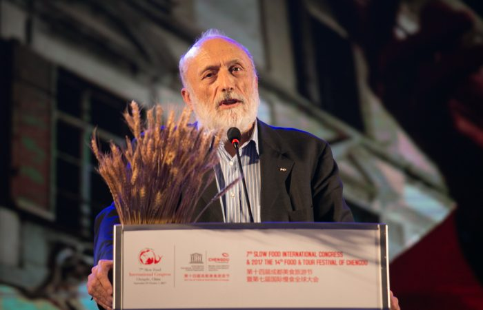 Petrini: the rebirth of food starts in rural China