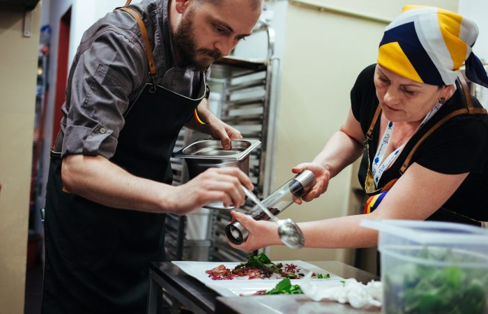 Taste the Balkans: Brussels and Balkans Chefs of the Slow Food Chefs Alliance Make Magic in the Kitchen