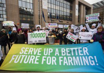 Slow Food Europa e outros grupos da sociedade civil unem as vozes de 100.000 cidadãos da UE, pedindo a ministros da agricultura da UE que  viabilizem um futuro melhor para a agricultura