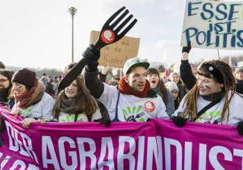 """35,000 Activists and Farmers Chant: """"We Have Had Enough!"""" at Annual Demonstration in Berlin Against Industrial Farming"""
