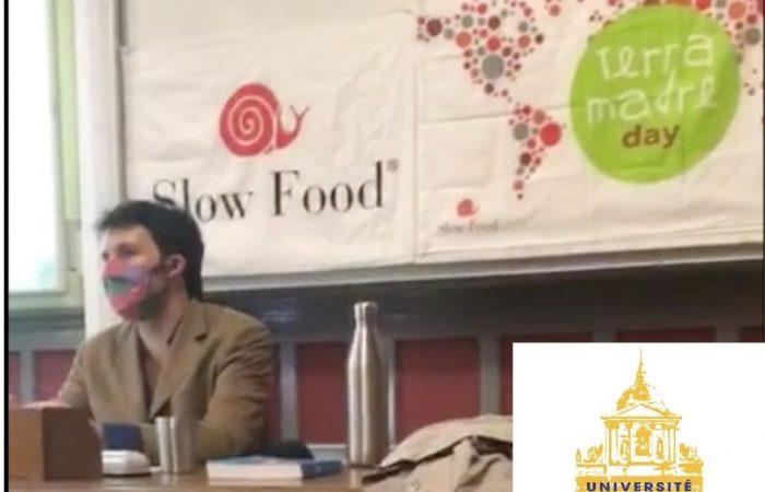 Séminaire Slow Food Paris-Région à la Sorbonne pour Terra Madre 2020