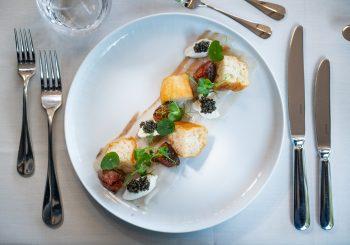 Рецепт из Германии: свинной зельц с хлебом и икрой