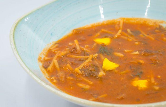 Receta de la Alianza de Cocineros de Italia: sopa de sardinas, de Lila Bentivegna
