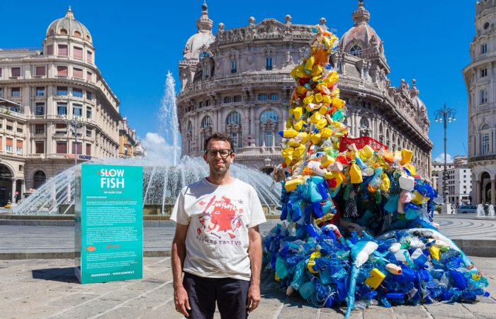 Cornucopia of Plastic: Christian Holstad at Slow Fish 2021