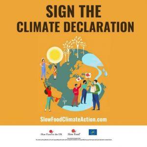 Slow Food Climate Action Declaration