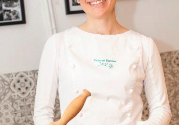 Rezept der Slow Food Chef Alliance der spanischen Köche: Fideuá con gatet (oder Fideuá de pintarroja).