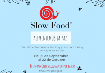 Let's Feed the Peace: a Campaign from the Slow Food Network