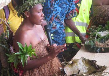 Slow Food Community Qorr growers of Vetimboso founded at Lantarr Slow Food Festival in Vanua Lava, Vanuatu